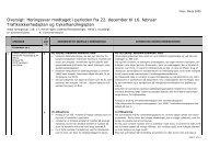 Oversigt: Høringssvar modtaget i perioden fra 22. december til 16 ...