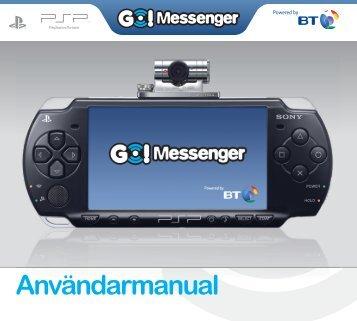 Go!Messenger™-konto - PlayStation