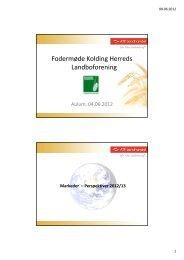 ATR Landhandel, KHL - Kolding Herreds Landbrugsforening