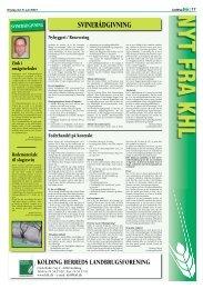 Medlemsorientering, Juni 2007 - Kolding Herreds Landbrugsforening