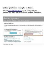 SÃ¥dan opretter du en digital postkasse (pdf) - Virk.dk