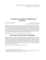 O território nas constituições Republicanas Brasileiras - Instituto de ...