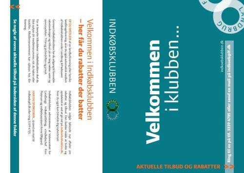 Læs brochuren fra Indkøbsklubben.....