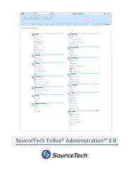 SourceTech Tellus 2.8 Admin en-EN - SourceTech AB