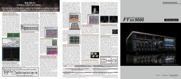 FT DX 9000 Perf Br - Yaesu UK Ltd