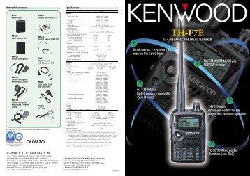 TH-F7E - Kenwood