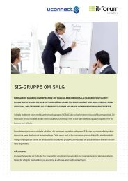 Invitation i InDesign SIG SALE.indd - it-forum midtjylland