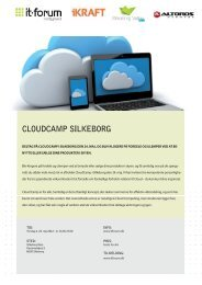 Invitation i InDesign CloudCamp Silkeborg.indd - it-forum midtjylland