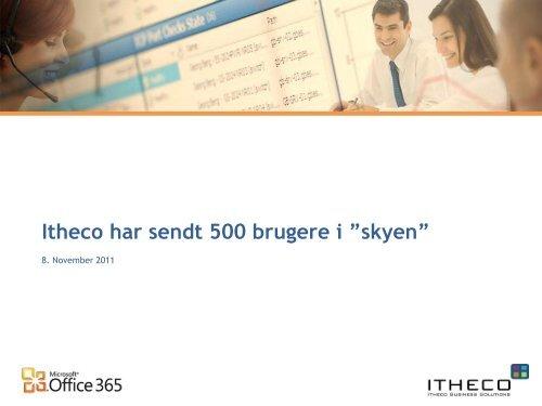 Case fra Itheco om Initto - it-forum midtjylland