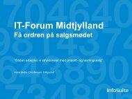 Hvem er InfoSuite A/S? - it-forum midtjylland