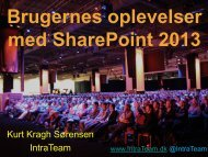 Hvordan måler du succes på dit intranet - it-forum midtjylland