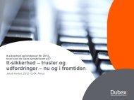 trusler og udfordringer - nu og i fremtiden - it-forum midtjylland