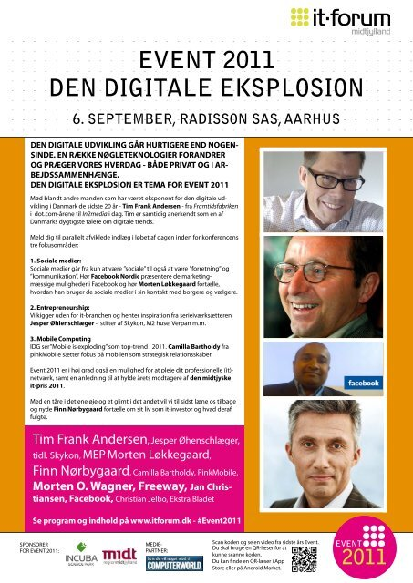 EVENT 2011 DEN DIGITALE EkSPLOSION - it-forum midtjylland