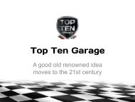 Top Ten Garage