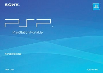 Hurtigreferanse - PlayStation