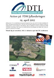 Action på FDM Jyllandsringen 14. april 2012 - Sawo