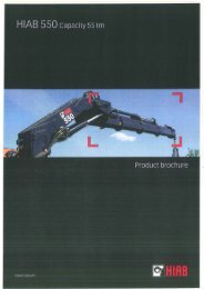 Page 1 Page 2 Page 3 The HIAB 550 gives you productivity The 55 ...