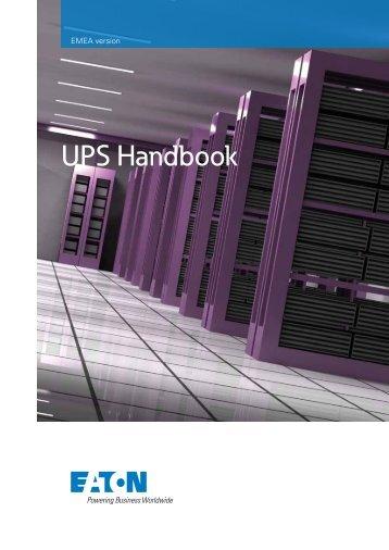 UPS Handbook - Soft Design A/S