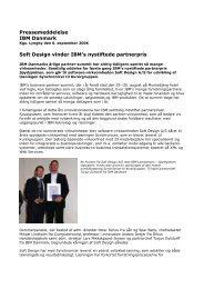 Soft Design vinder IBM's innovationspris med IT ... - Soft Design A/S