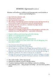 Referat fra bymødet - Egernsund
