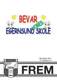 November 2011 31. årgang nr. 4 - Egernsund