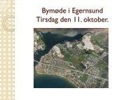 Bymøde i Egernsund