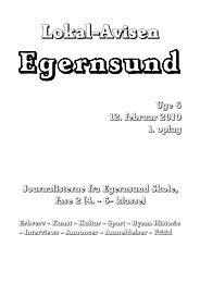 Lokal-Avisen - Egernsund