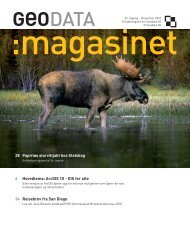 Les magasinet her - Geodata