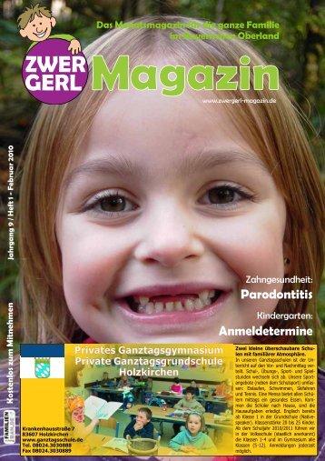 Das Monatsmagazin für die ganze Familie - Zwergerl Magazin