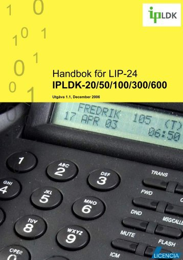 LIP-24Dx - Licencia Telecom AB