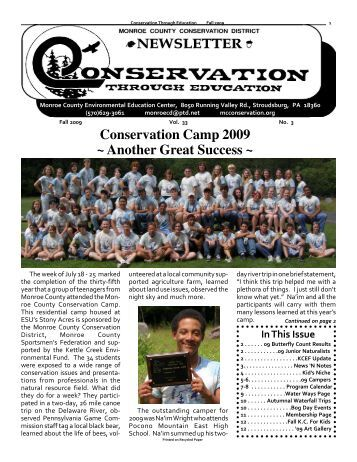 Fall 2009 Newsletter.pmd - Middle Smithfield Township