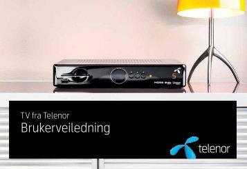 TV-dekoder med opptaker - Telenor
