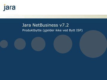 presentasjon om - Jara