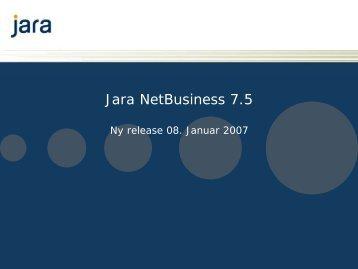 Jara NetBusiness 7.5 - Telenor