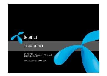 Telenor in Asia