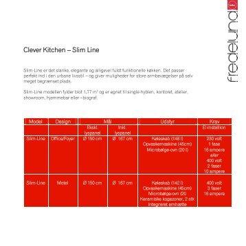 Clever Kitchen – Slim Line