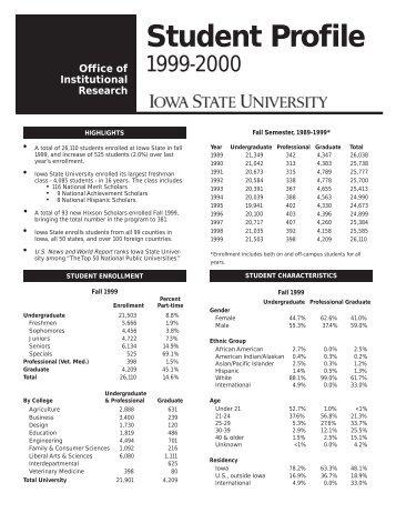 Interpretation of Entering Student's Test Scores