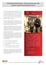 Norsk Pasientskadeerstatning - Software Innovation