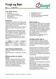 FrugtogBær - Økologisk Rådgivning