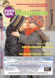 Benimm ist wieder - Zwergerl Magazin