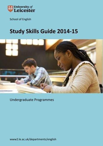 EnglishUGStudySkillsGuide2014v1.2