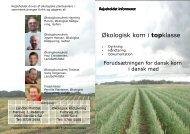 Økologisk korn i topklasse - Økologisk Rådgivning