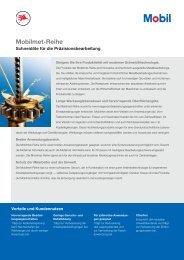 Mobilmet-Reihe - Mobil™ Industrial Lubricants