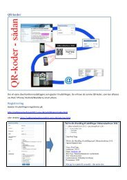 QR-koder - Uddannelsesforum 2011 - Emu