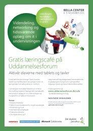 Gratis læringscafé på Uddannelsesforum - Uddannelsesforum 2011 - Emu