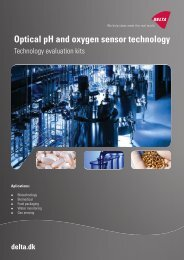 Optical pH and oxygen sensor technology - Delta
