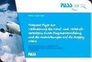 Infoflyer - PASS Travel