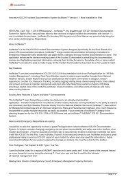 Innovative ICS 201 Incident Documentation System ... - eReleases