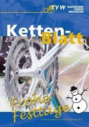 Frohe Festtage Frohe Festtage - Radfahrer Verein Wetzikon