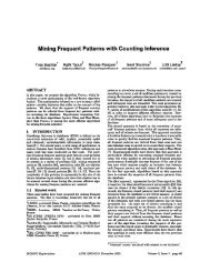 Mining Frequent Patterns with Counting Inference - Université Nice ...